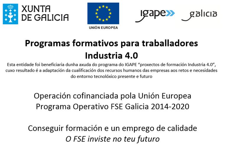 Proxectos de formación Industria 4.0